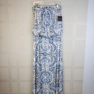 NWT Cynthia Rowley Strapless Summer Maxi Dress